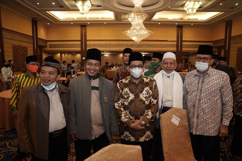 Wamenag Ajak Para Tokoh Agama Untuk Kampanyekan Moderasi Beragama