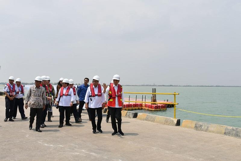 Presiden Ingin Pelabuhan Patimban Jadi Hub Besar untuk Ekspor Otomotif