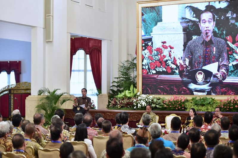 Presiden Jokowi Nantikan Gerak Cepat Perguruan Tinggi Respons Perubahan Global
