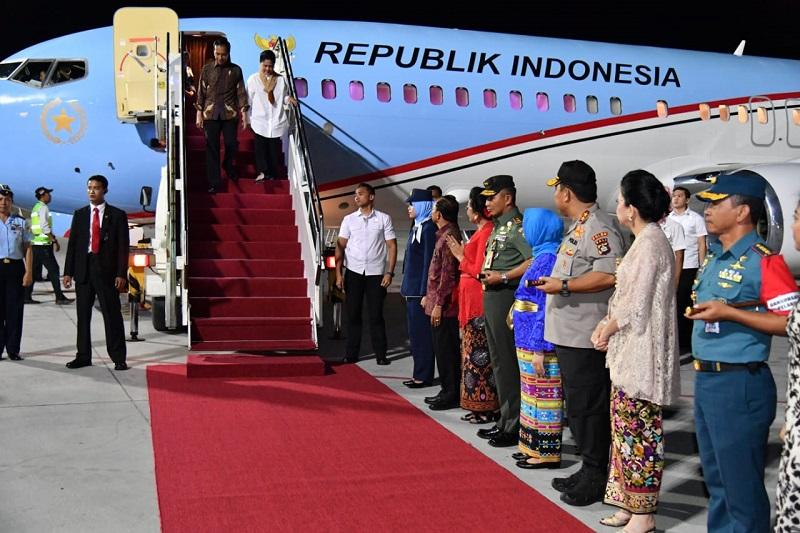 Terbang ke Bali, Sejumlah Agenda Menanti Presiden