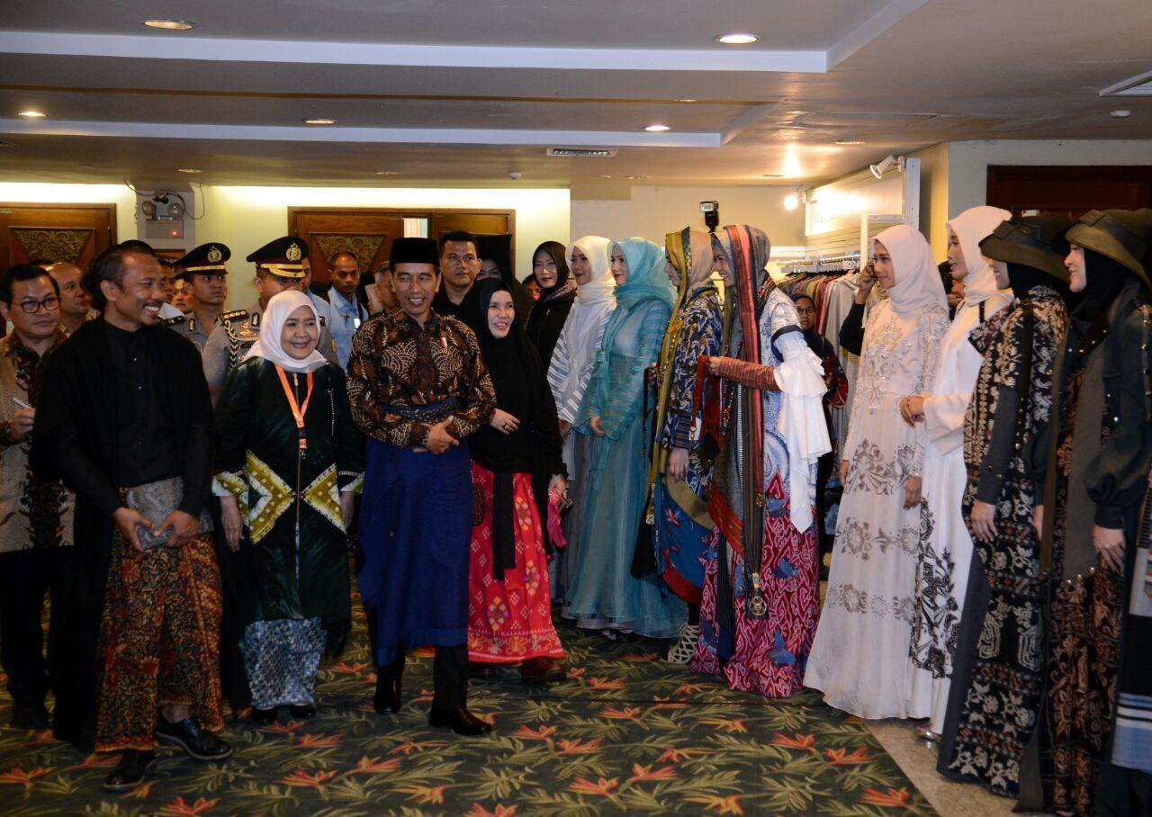 Presiden Sebut Industri Fesyen Punya Masa Depan Cerah di Indonesia