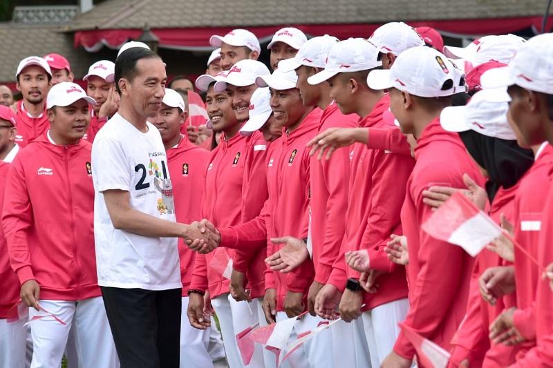 Masyarakat Menanti Indonesia Raya Berkumandang di Asian Games ke-18