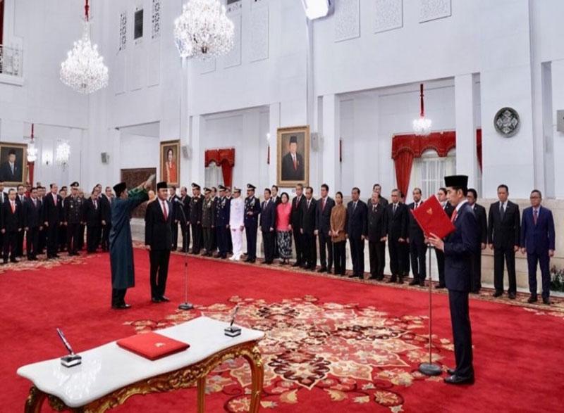 Presiden Lantik Irjen Pol Heru Winarko Sebagai Kepala BNN