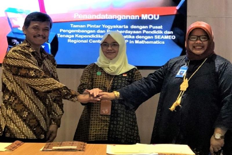 Kemendikbud dan SEAMEO QITEP Akan Sediakan Alat Peraga Matematika di Taman Pintar Yogyakarta