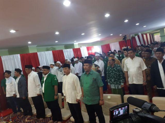 Moeldoko Peringati Nuzulul Qurán dan Hari Lahir Pancasila Bersama Gerakan Pemuda Ansor