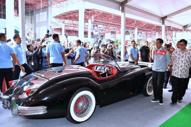 Presiden Optimis Revolusi Industri 4.0 Tumbuhkan Industri Otomotif