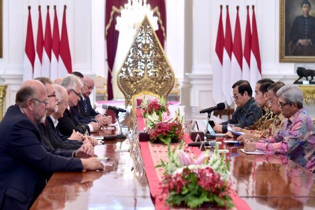 Presiden Jokowi Terima Kunjungan Senat Republik Ceko