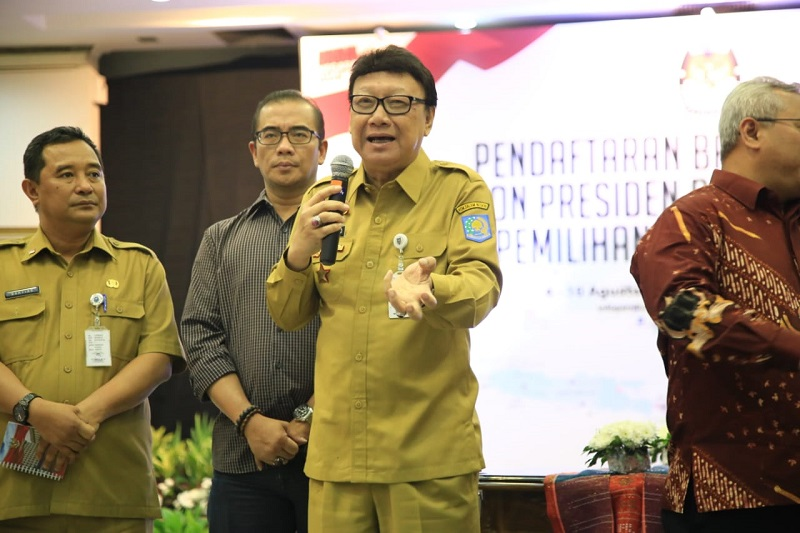 Mendagri:  Berani Ambil Resiko, Itu yang Coba Ditularkan Pak Jokowi