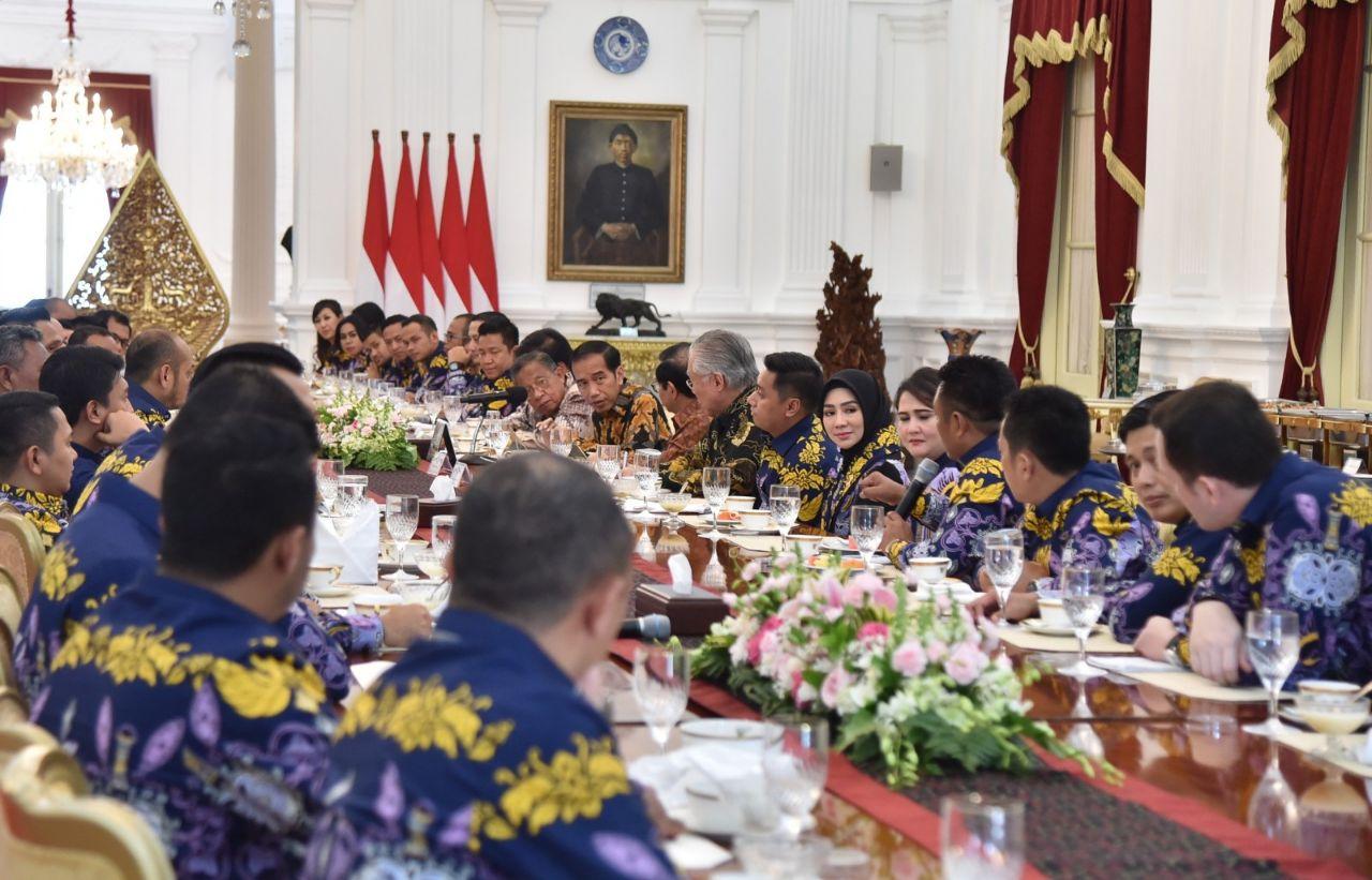 Presiden Dorong Pertumbuhan Entrepreneur Muda