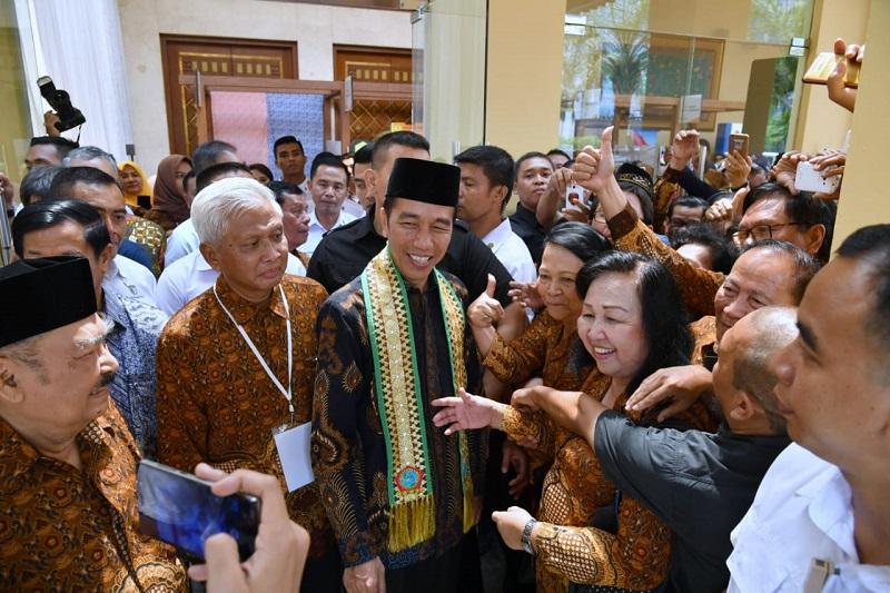 Presiden Sebut Pengalaman Panjang Para Pensiunan sebagai Potensi Besar