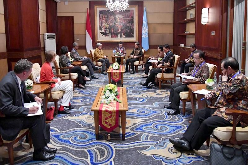 Hari Kedua di Bali, Presiden Bertemu Sekjen PBB hingga Hadiri ASEAN Leaders Gathering