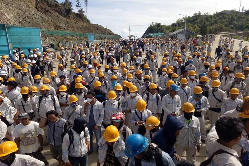 Di Morowali, TKA dan TKI Digaji dan Diperlakukan Sama